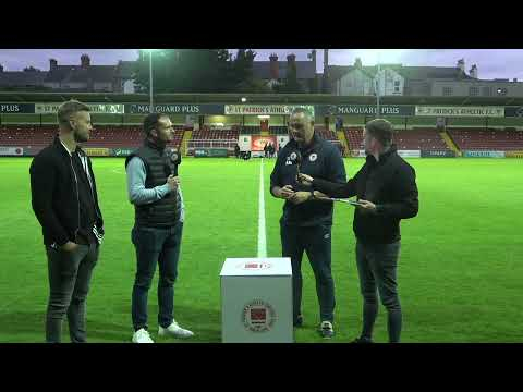 INTERVIEW   Mathews On 1-0 Win Over Derry