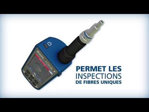 AFL présente le système d'inspection de connecteurs multifibres FOCIS Lightning.