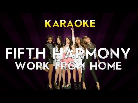 Fifth Harmony - Work from Home ft. Ty Dolla $ign | HIGHER KEY Karaoke Instrumental Lyrics Cover