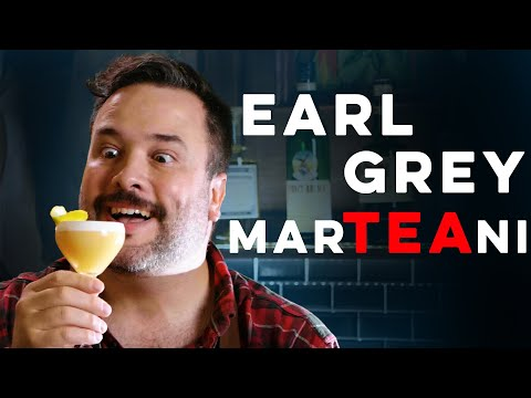Earl Grey MarTEAni from Audrey Saunders | How to Drink