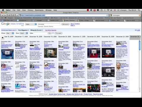 Google News Timeline Tutorial