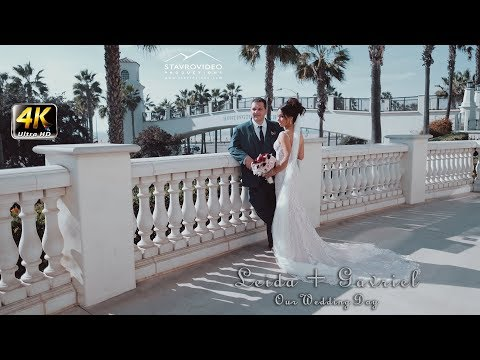 Leida + Gavriel's 4K UHD Wedding In Hyatt Huntington Beach And St John  Greek Orthodox Church
