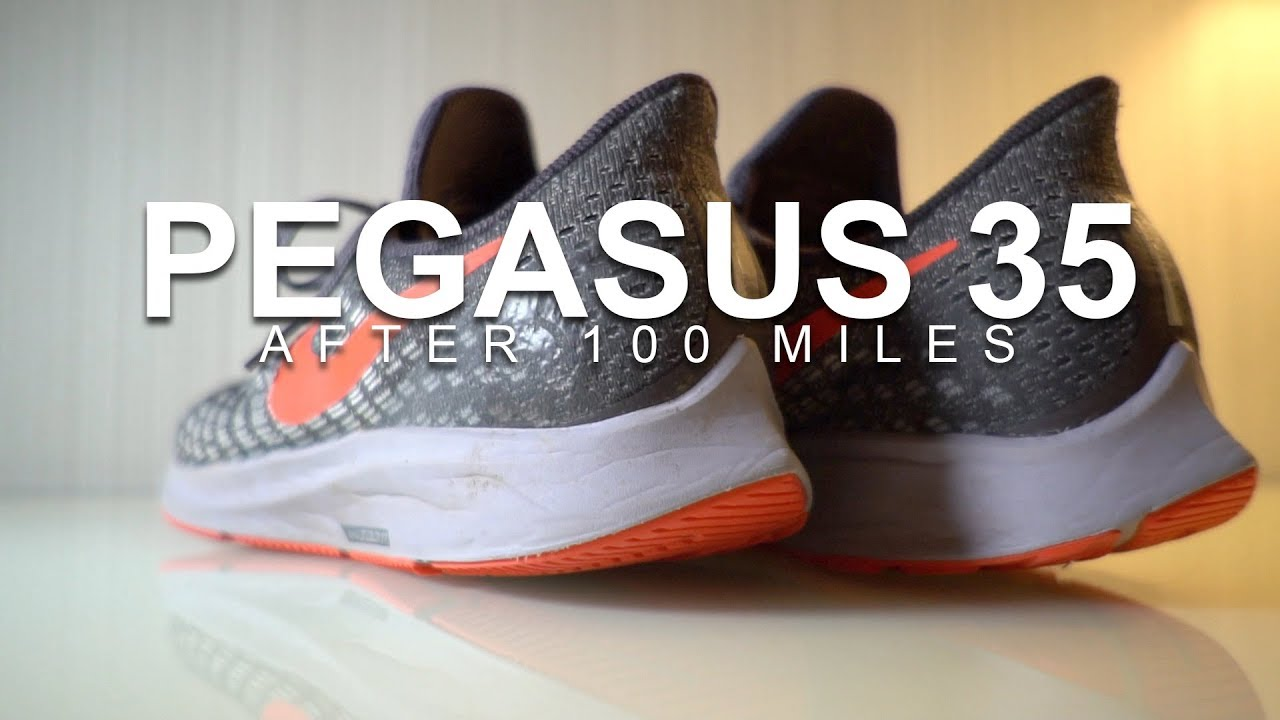 50f0fd0b3392 ZOOM PEGASUS 35 - AFTER 100 MILES - YouTube