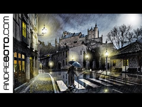 Night Walking - How to Photoshop it - by André Boto