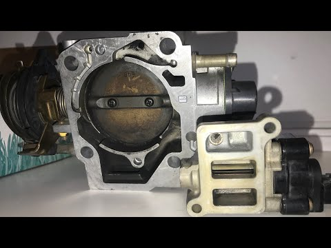 HOW TO CLEAN IAC VALVE