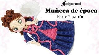 Amigurumi muñeca de época, parte 2/5 patrón gratis
