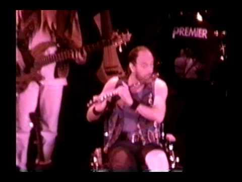 Jethro Tull March 23, 1996 DAR Constitution Hall Washington DC, USA. Ian in wheelchair