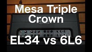 Скачать EL34 Vs 6L6 Mesa Triple Crown Part 1