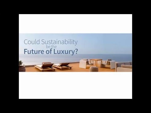 Could Sustainability be the future of Luxury - webinar by www.takecare.travel
