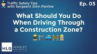 What Should You Do When Driving Through a Construction Zone? thumbnail image