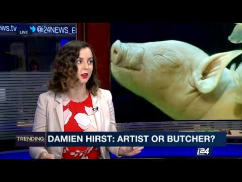 How many animals have died for Damien Hirst's art?