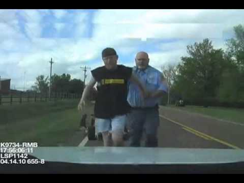 Redneck high speed chase and arrest