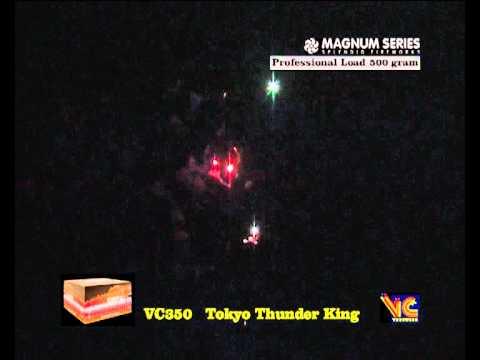 Magnum Series VC Vuurwerk Tokyo Thunder King