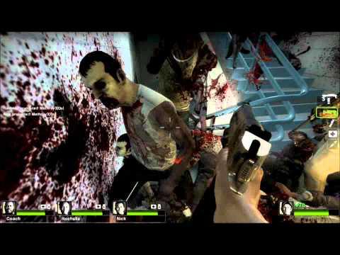Left 4 Dead 2 Dead Center Campaign Walkthrough Part 3/4 [HD]