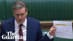 Coronavirus: Keir Starmer confronts Boris Johnson at PMQs