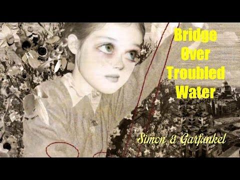 Bridge Over Troubled Water   Simon & Garfunkel  (TRADUÇÃO) HD (Lyrics Video)