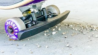 ROCK DEFLECTING SKATEBOARD?! *Will this change the game?!*