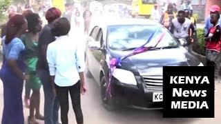 A PREGNANT slay queen interrupts WEDDING in Nakuru!!!