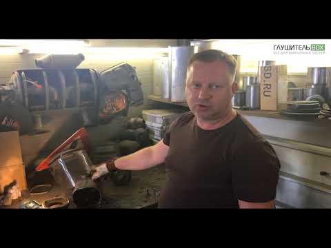Chevrolet Cruze — замена катализатора на пламегаситель