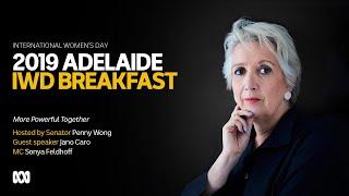 Live: Adelaide International Women's Day Breakfast