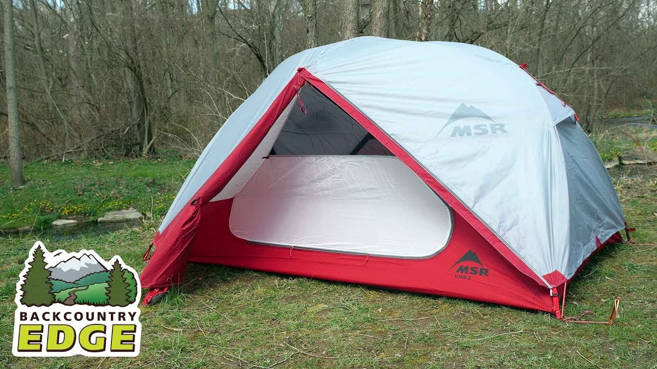 MSR Elixir 2 Person Lightweight Hiking Tent