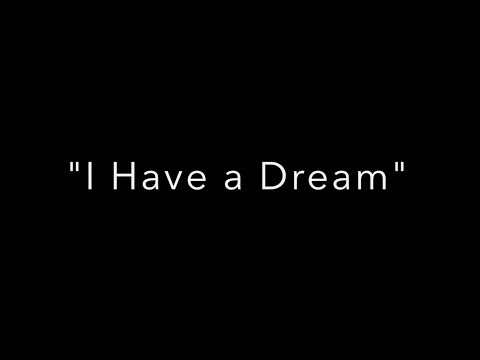 """""""I Have a Dream"""" read by students of Somersworth Middle School"""