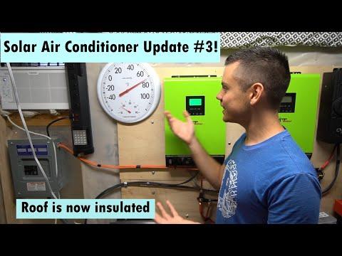 Cheap Solar Powered Air Conditioner Part #3