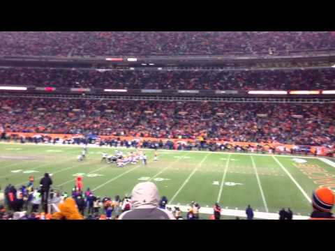 Justin Tucker game winning field goal. Ravens vs Broncos. AFC Divisional Round.
