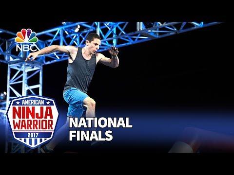 Josh Levin at the Las Vegas National Finals: Night 1 - American Ninja Warrior 2017