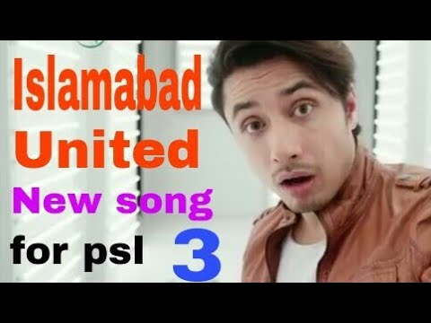 Ali zafar  New song for Islamabad united in PSL(3)#2018 thumbnail