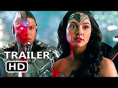 "JUSTІCЕ LЕАGUЕ ""Wonder Woman Team"" Movie Clip Trailer (2017) Gal Gadot Movie HD"