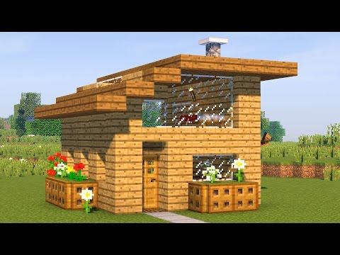 Как построить дом в майнкрафте легко и красиво на выживание
