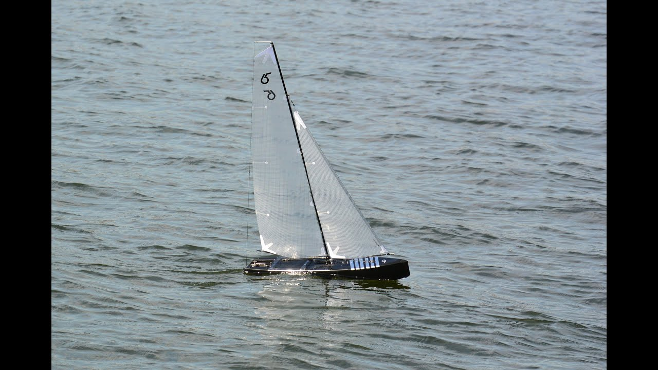 DragonForce 65 RC sailboat with Catsails A