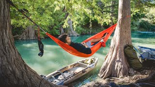 KAYAK CAMPING Texas - 3 Dąys on the Guadalupe River