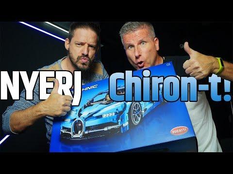 LEGO Technic Bugatti Chiron | NYERD MEG! | Unboxing #72