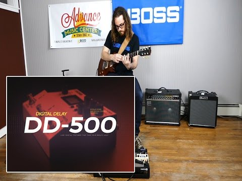 BOSS DD500 Digital Delay Demo  Austin Sandick