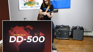 BOSS DD-500 Digital Delay Demo by Austin Sandick