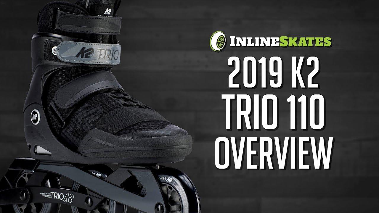 7fd01b11885 K2 Trio 110 Urban Inline Skates 2019