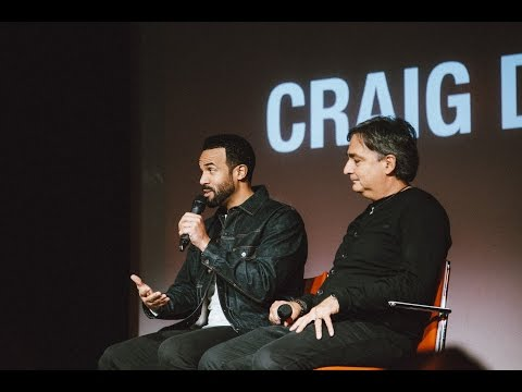 Craig David and Colin Lester at Southampton Solent University
