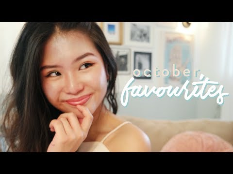 October Favourites | hair & skincare, makeup, fashion, snacks, music