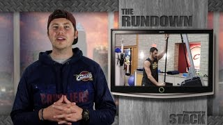 Kevin Love High Altitude Workout, Jon Jones Incredible Deadlift and Mighty Mights Doing The Nae Nae