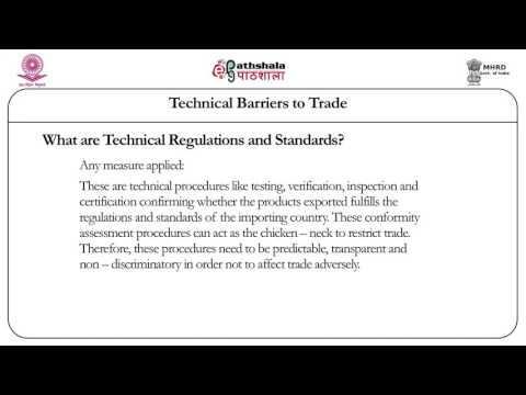 Technical barriers to trade (Law)