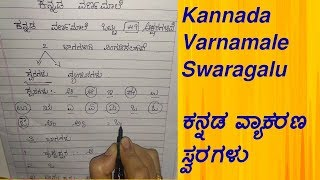 kannada varnamale swaragalu | ಕನ್ನಡ ವ್ಯಾಕರಣ ಸ್ವರಗಳು, ಕನ್ನಡ ಹ್ರಸ್ವ ಸ್ವರ, ದೀರ್ಘ ಸ್ವರ, ಯೋಗವಾಹಗಳು | TLM