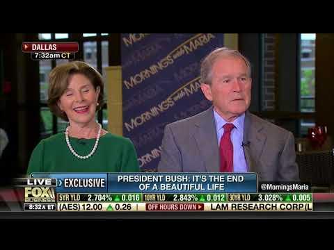 George W. Bush Pays Tribute to Mom