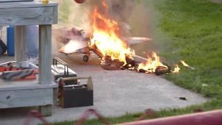 RC jet fire