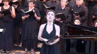 MARION GRANGE soprano dans UN REQUIEM ALLEMAND / BRAHMS