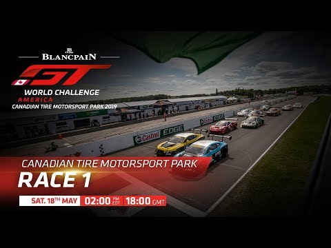 RACE 1 – Canada – Blancpain GT World Challenge 2019 USA..