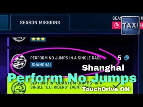 Asphalt 9 - Perform No Jumps in a Single Race - Shanghai - Mission - TouchDrive Guide
