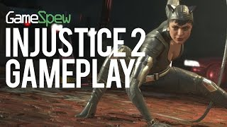 Injustice 2 Gameplay - Gotham City Has The Best Video Game Floor Ever
