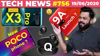 realme X3 Pro New Camera Design,Redmi 9A Launch, POCO New Phone Confirmed, Buds Q, OnePlus Z-#TTN756